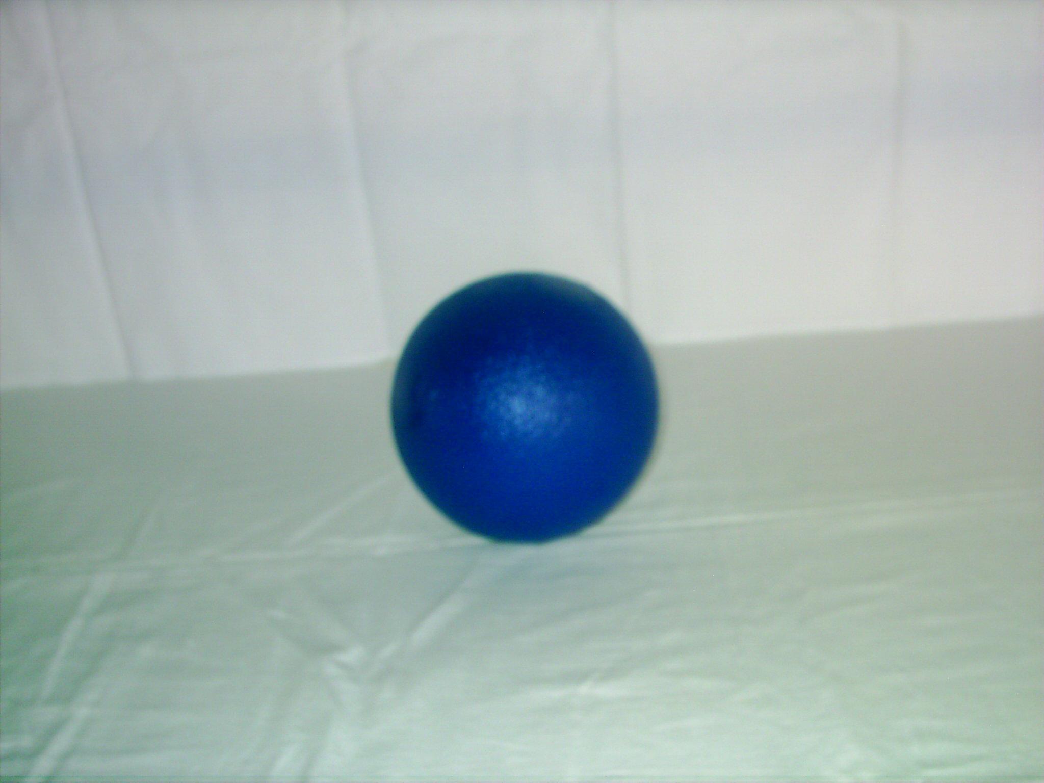 B005 Blauwe soft bal